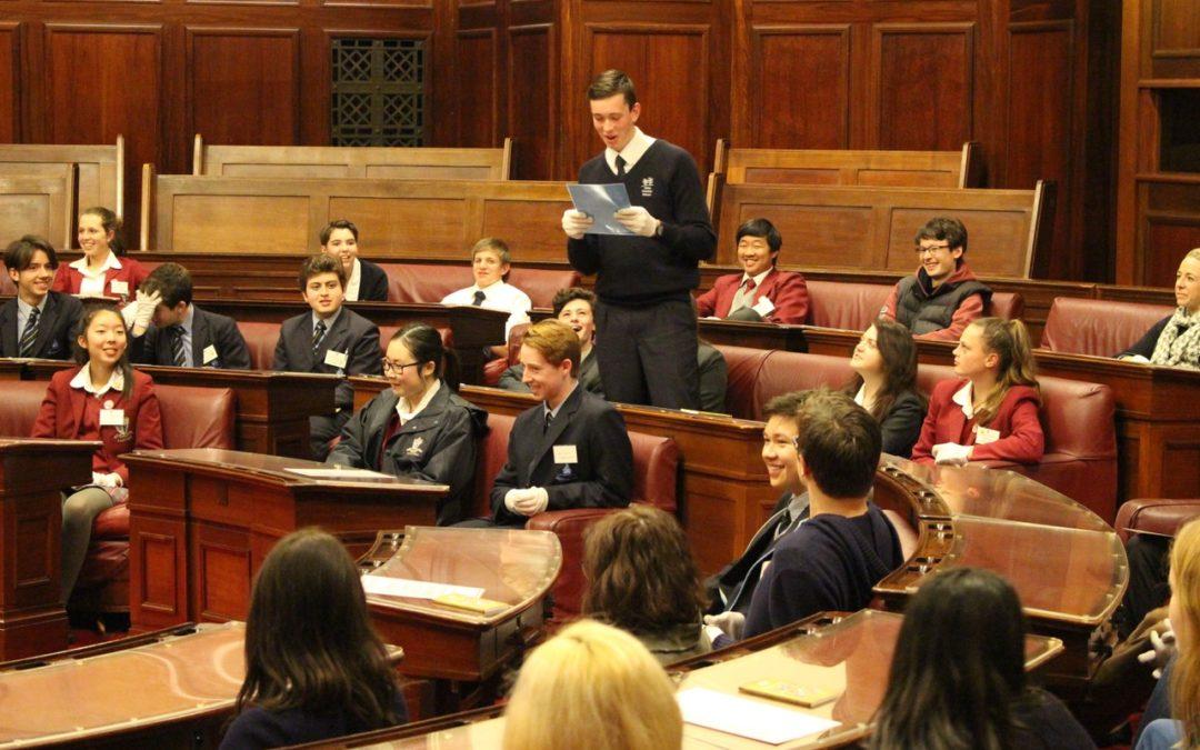 Student Debate in Senate
