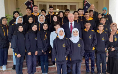 Unearth-Ed school Playford College, first interstate school to travel to Canberra since the Pandemic started