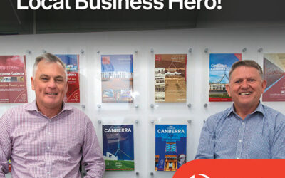 Unearth-Ed receive Australia post business hero award for Classroom Canberra magazine and planner
